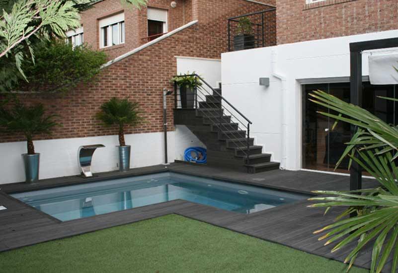 Piscinas csn garden pool for Biopiscinas construccion